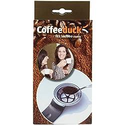 Coffeeduck Machines Senseo, Noir/Argent