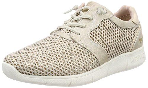 MUSTANG Damen 1242-402-4 Slip On Sneaker, Beige, 40 EU