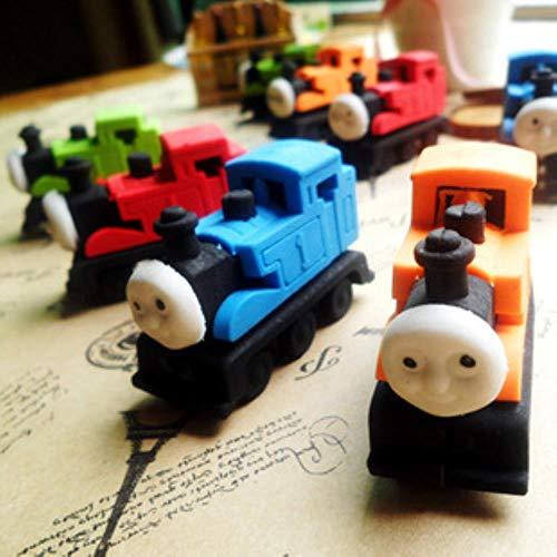 THREE 20 stücke student preis schreibwaren niedlichen Thomas modell auto zug kreative DIY radiergummi, 20 stücke - Modell Autos Züge,