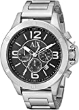 Armani Exchange Wellworn Analog Black Di...