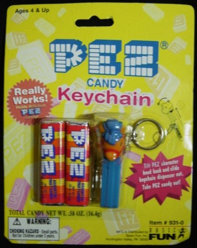 pez-candy-pony-keychain-new-on-card-by-pez-candy