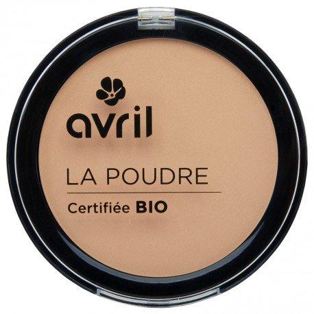 AVRIL - Poudre Compacte NUDE 661 - Ne Dessèche pas la Peau - Certifiée Bio - Non Testée sur les Animaux - 7g