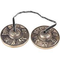 Platillos de Cobre Campanas de Budista Platillos de Budismo Tibetano para Cantar Oraciones