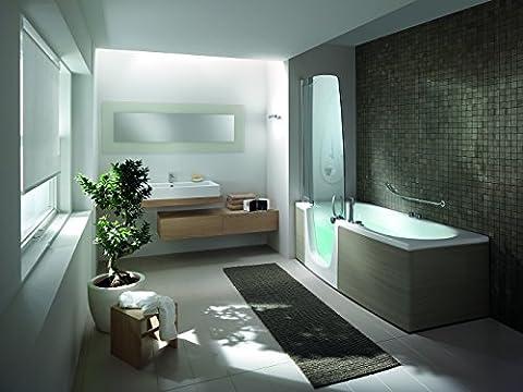 Teuco Duschbadewanne 382 Türe rechts mit Clean Glas pflegeleicht