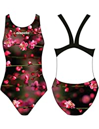 diapolo Flamingos Maillot de bain de la collection Wild Animals pour nager natation synchronisée Eau Ball thriathlon