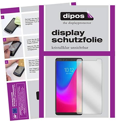 dipos I 2X Schutzfolie klar passend für Lenovo K5 Pro Folie Bildschirmschutzfolie