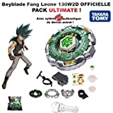 Fang Leone 130W2D 4D Takara Tomy - Ultimate version mit authentic 4D system, launcher LL2 und Launcher Grip - Beyblade Metal Fury
