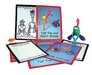Inspirational Classrooms 3500801 Crazy Creatures - Juguete con Tarjeta de Trabajo