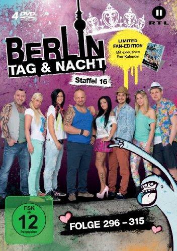 Berlin - Tag & Nacht, Vol. 16: Folgen 296-315 (Fan Edition) (4 DVDs)