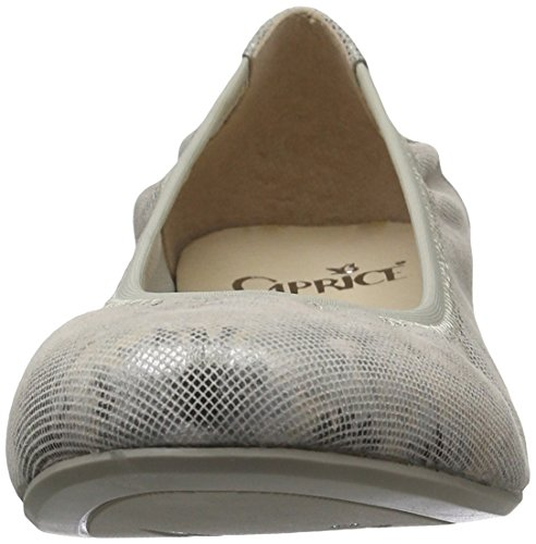 Caprice 22100, Ballerine Donna Grigio (LT Grey Comb)