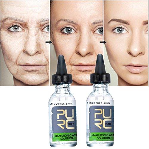 (gaddrt Face Lift Vitamin Serum Hyaluronic Flüssigkeit feuchtigkeitsspendende Anti-Falten)
