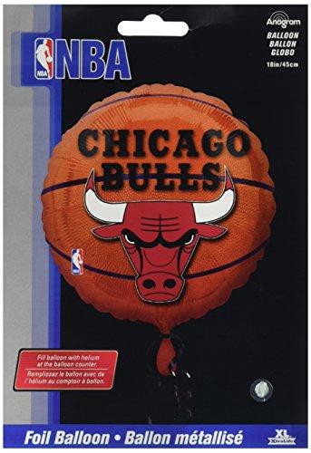 Anagram International a11373201Chicago Bulls Ballon Pack, 45,7cm