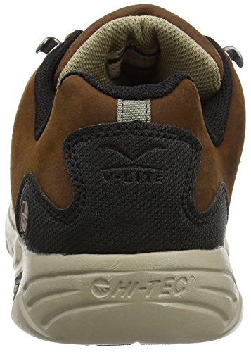 Hi-Tec V Walk Lite Witton Trek Waterproof, Chaussures de Randonnée Basses Homme Marron (Chocolate 041)