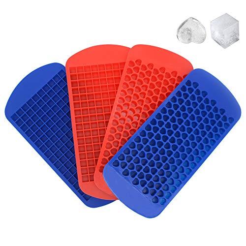 RETON 4 Paquete Bandejas de Cubitos de Hielo Mini