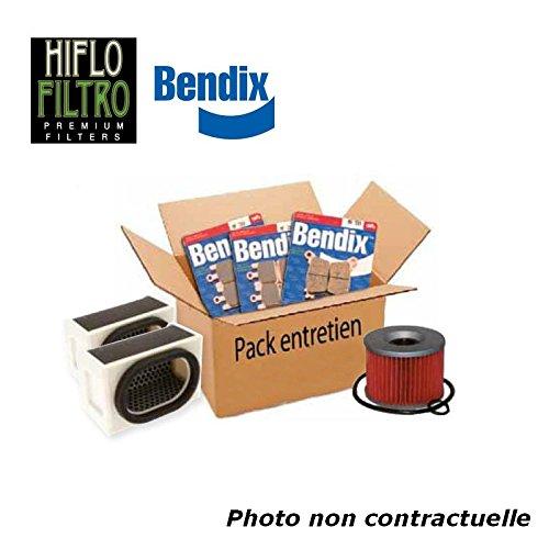 Bihr - Pack Entretien Compatible Suzuki Gsxr750 08-09 (Filtres Air Et Huile + Plaquettes Avant Et AR)