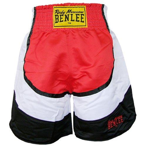 BENLEE Rocky Marciano Box Shorts Dempsey, Rot/Schwarz/Weiß, L