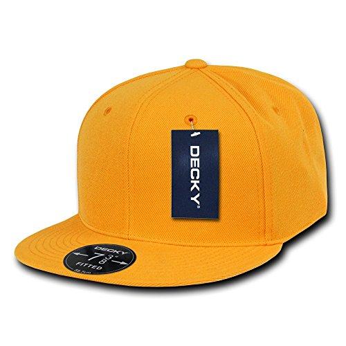 Decky Retro Fitted Caps Head Wear, Herren, Gold, 104 Preisvergleich