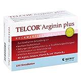 Telcor Arginin plus Filmtabletten 120 stk