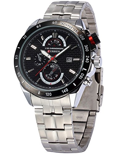 Ampm24 Handcuffs Luxury Analogue Black Dial Men Watch (Cur037)