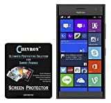 Chevron Aquashieldz Pro 0.33mm Tempered Glass Shatter Proof and Shock Absorbing Screen Protector for Nokia Lumia 730 best price on Amazon @ Rs. 130