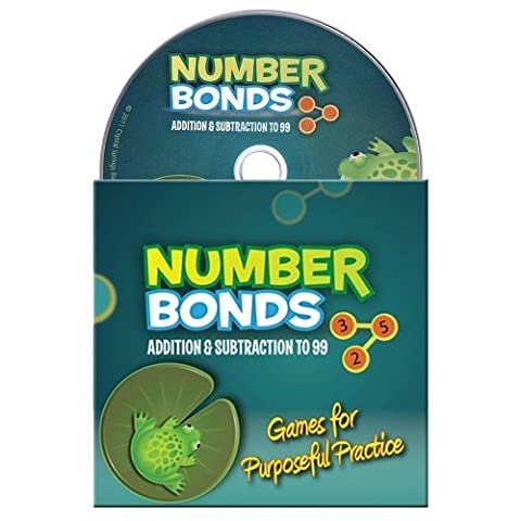 Number Bonds: Addition & Subtraction to 99: Games for Purposeful Practice by Crystal Springs Book (2011) Audio CD
