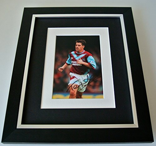 sportagraphs-tony-cottee-signed-10x8-framed-photo-autograph-display-west-ham-united-coa