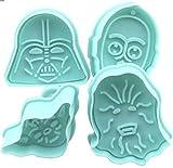 Star Wars Cookie Cutters Plätzchenformen Keks Ausstechformen - Mehrfarbig by