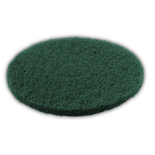 Trevendo ® 5 Stück 16 Zoll Schleifpad Ø 406 mm, 20 mm stark, für Einscheibenmaschinen (grün)