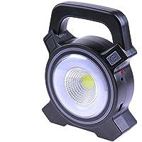 Trendyest - Linterna Solar Recargable con USB COB LED