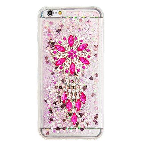 Mk Shop Limited Coque Housse Etui pour iPhone 7 Plus, iPhone 7 Plus Coque en Silicone Glitter, iPhone 7 Plus Silicone Coque Housse Transparent Etui Gel Slim Case Soft Gel Cover, Etui de Protection Cas Multi-couleur 13