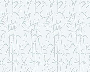 d-c-fix 334–0020 Film électrostatique sans ® adhésif pour vitrage Motif bambou Blanc 45 cm x 1,5 m 334–0002