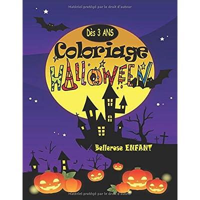 Coloriage Halloween: Livre de Coloriage pour Enfant avec une Collection de 40 Merveilleux Dessins d'Halloween ; Coloriages pour Enfants dès 3 ans - ... - Volume 2 - (Coloriage Magique Enfant)