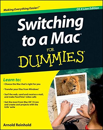 Switching to a Mac For Dummies: Mac OS X Lion Edition (2446-systeme)