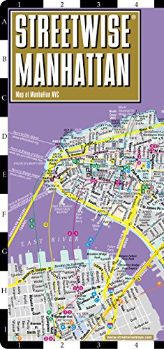 Streetwise Manhattan Map - Laminated City Street Map of Manh (Streetwise (Streetwise Maps))