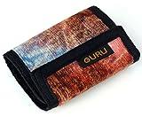 Guru-Shop Portemonnaie `Ethno`, Stoffportemonnaie, Geldbörse, Brieftasche, Herren/Damen, Braun, Baumwolle, 9x12 cm, Börsen aus Stoff, Hanf & Brokat