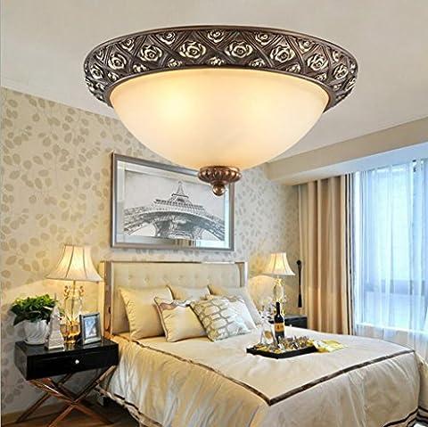 Jingzou Continental Plafond moderne minimaliste bureau couloir balcon Nordic chambre Eclairage 37*17CM