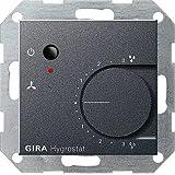 GIRA 226528. Hygrostat électronique Anthracite 230V