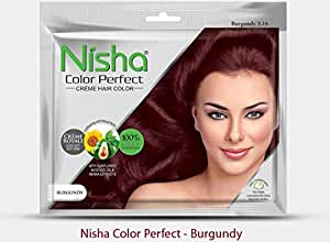 Nisha Color Perfect Hair Color (BURGUNDY)