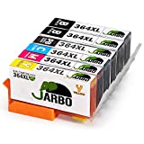 JARBO Ersetzt für HP 364XL 364 Druckerpatronen (inkl. Foto-schwarz) Kompatibel mit HP Photosmart 6520 5510 7510 7520 6510 5515 5520 C5380 B010a,HP OfficeJet 4620 4622, HP Deskjet 3070A 3520 3524 3522