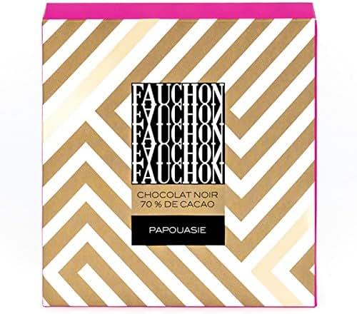 Fauchon - Chocolat noir à 70% de cacao origine Papouasie