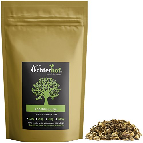 100g Angelikawurzel geschnitten Kräuter Tee - Natürlich vom Achterhof Angelika Wurzel