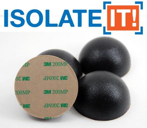 25-635-cm-spheres-amortissantes-en-sorbothane-antichocs-adhesifs-inclus-durometre-50-lot-de-4