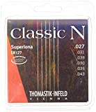 Thomastik Saite für Klassik-Gitarre Classic N Series. Superlona Light Plain Nylon<p><br>- Silverplated Copper. Round Wound<p><br>-