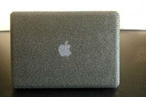 """Cellbell Coque pour MacBook Air 13,3"""" modèles 2010-2013 Argenté/diamants de style Swarovski"""