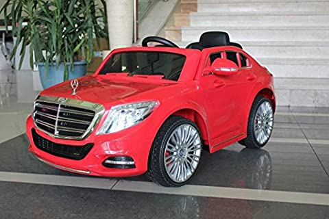 Licensed Mercedes Benz S Class Ride On Car - Kids Electric Car - 12v – Red