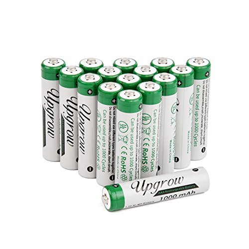 Upgrow 16*AAA Batteries Rechargeables Piles...