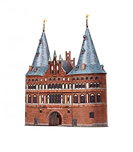 CLEVER PAPER- Puzzles 3D Puerta de Holsten Lübeck, Alemania (14352)