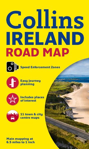 Ireland Road Map por Collins Maps