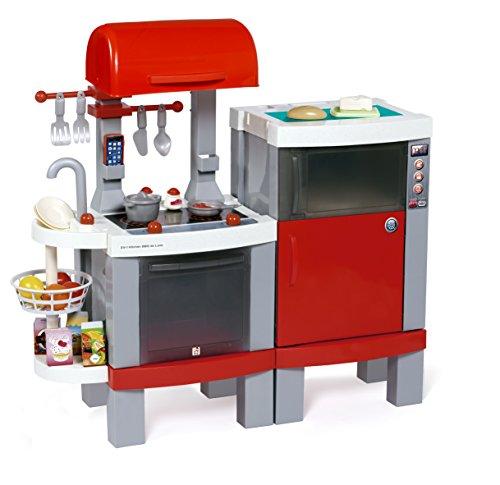 Chicos - Cocina BBQ Deluxe 2 en 1, Color Rojo (Fábrica de Juguetes 85013)