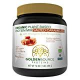 Best Protein Sources - Golden Source Proteins Organic Plant-based Protein Powder, Salted Review